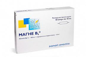 Магне B6 раствор