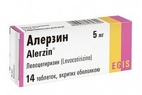 Алерзин таблетки