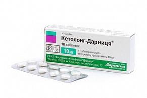 Кетолонг Дарница таблетки