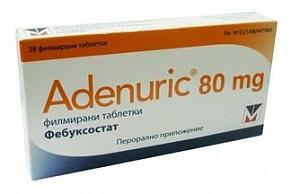 Аденурик таблетки