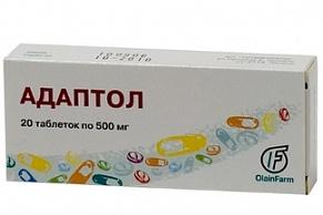Адаптол таблетки