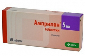 Амприлан таблетки