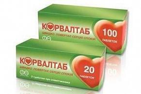 Корвалтаб таблетки